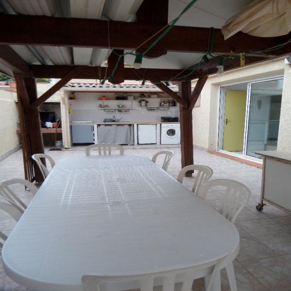 Location de vacances Rez de jardin Canet plage 66140